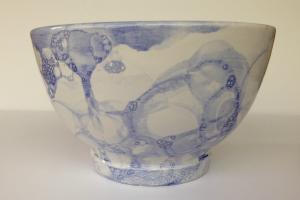 Paint Your Own Pottery: Bubble Painting at The Workspace