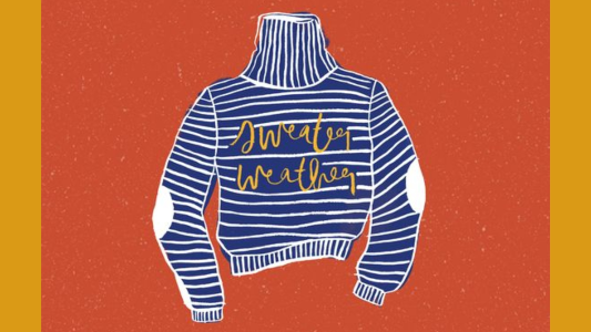 Paint Your Own Pottery: Sweater Weather