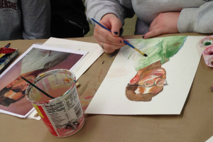 Watercolor Class with Molly Nagel at The Workspace