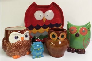 Woodland Friends Paint Your Own Pottery at The Workspace