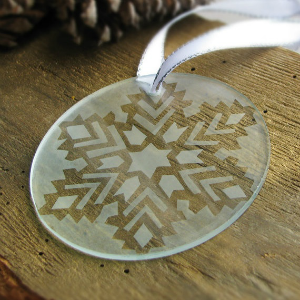 Etched Glass Ornament Walk-In Craft