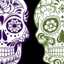 Day of the Dead Skulls Walk-In Craft