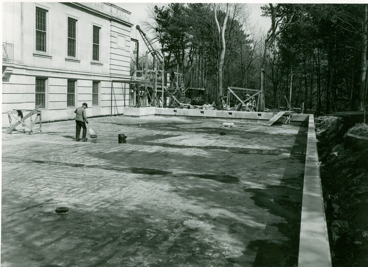 The 1948-49 addition also included a south terrace and 8 more bowling lanes.