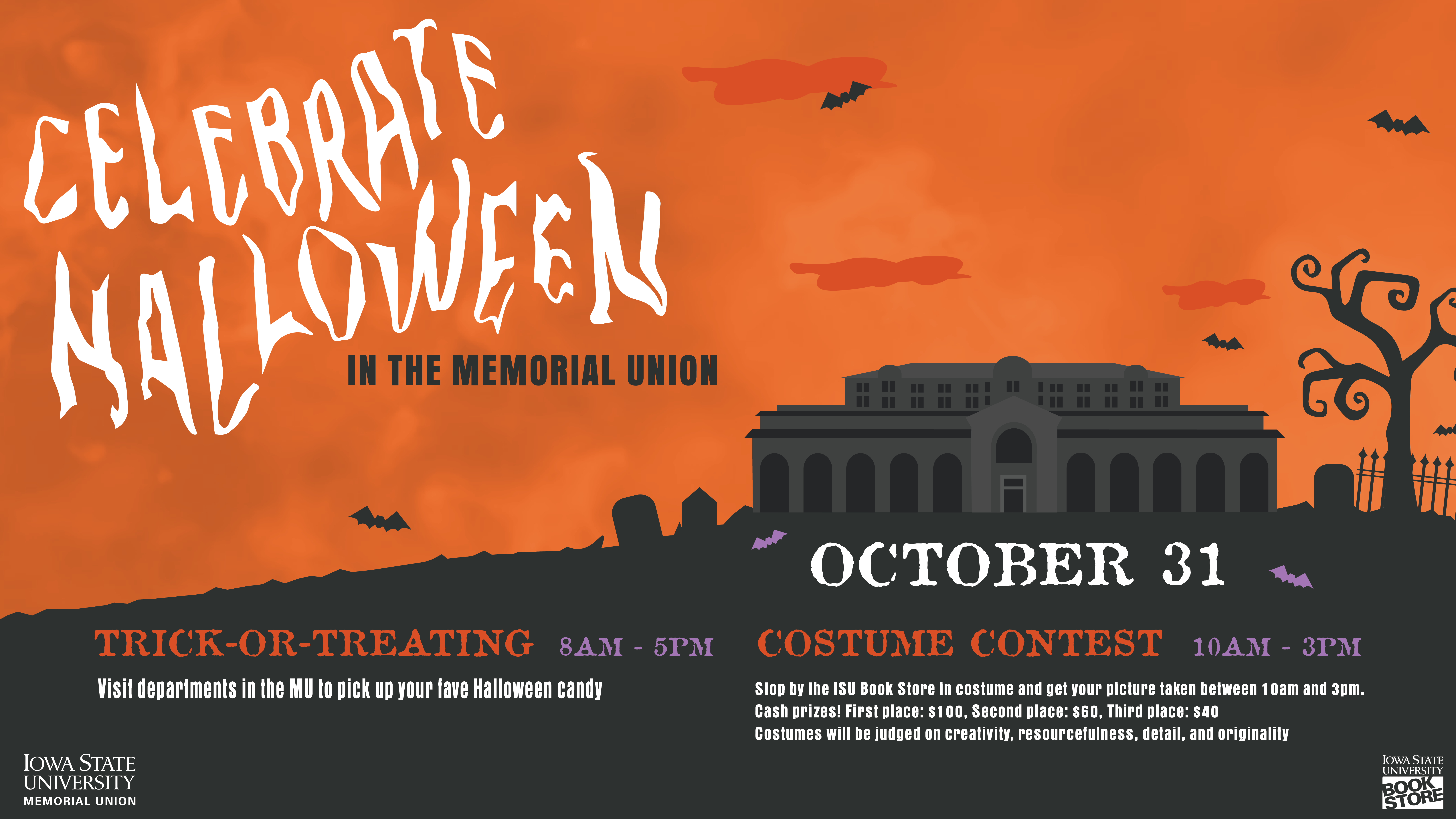 View post titled Come Celebrate Halloween at the MU!
